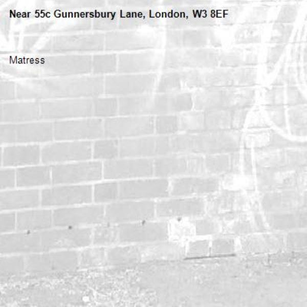Matress -55c Gunnersbury Lane, London, W3 8EF