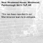 This has been reported to our Maintenance team to investigate.-Westmead House, Westmead, Farnborough GU14 7LP, UK
