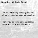 This issue is being investigated and will be resolved as soon as possible.