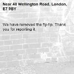 We have removed the fly-tip. Thank you for reporting it.-48 Wellington Road, London, E7 9BY