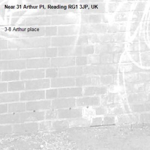 3-8 Arthur place -31 Arthur Pl, Reading RG1 3JP, UK