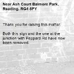 Thank you for raising this matter.