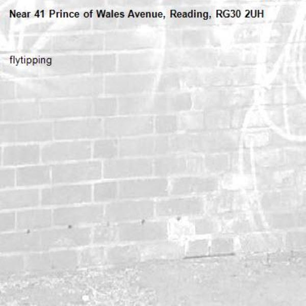 flytipping-41 Prince of Wales Avenue, Reading, RG30 2UH