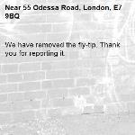 We have removed the fly-tip. Thank you for reporting it.-55 Odessa Road, London, E7 9BQ