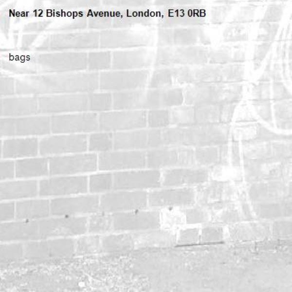 bags-12 Bishops Avenue, London, E13 0RB