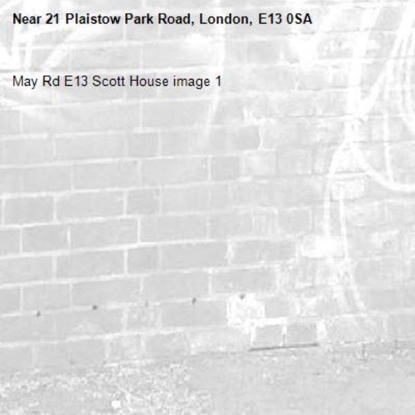 May Rd E13 Scott House image 1-21 Plaistow Park Road, London, E13 0SA