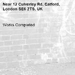 Works Completed-12 Culverley Rd, Catford, London SE6 2TS, UK