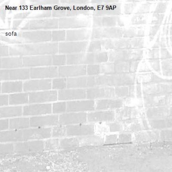 sofa-133 Earlham Grove, London, E7 9AP