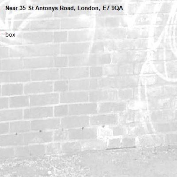 box-35 St Antonys Road, London, E7 9QA