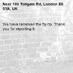 We have removed the fly-tip. Thank you for reporting it.-180 Tollgate Rd, London E6 5YA, UK