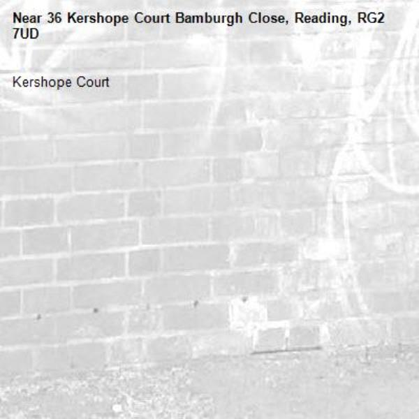 Kershope Court -36 Kershope Court Bamburgh Close, Reading, RG2 7UD