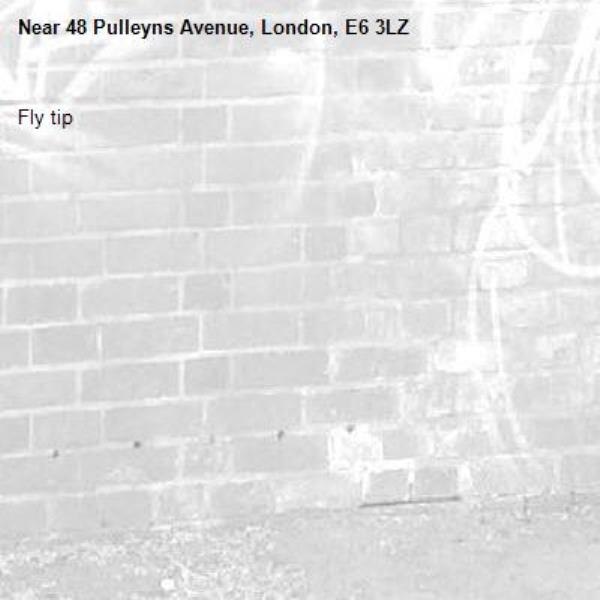 Fly tip -48 Pulleyns Avenue, London, E6 3LZ