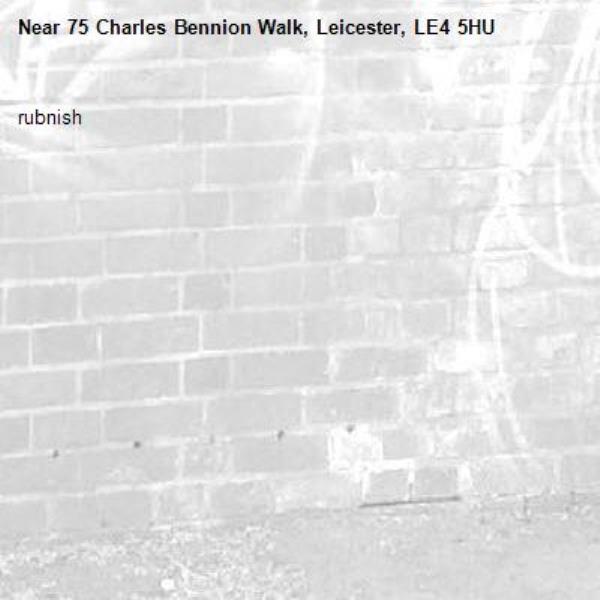 rubnish-75 Charles Bennion Walk, Leicester, LE4 5HU