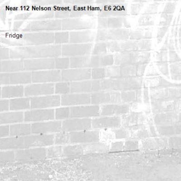 Fridge-112 Nelson Street, East Ham, E6 2QA
