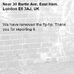 We have removed the fly-tip. Thank you for reporting it.-30 Bartle Ave, East Ham, London E6 3AJ, UK