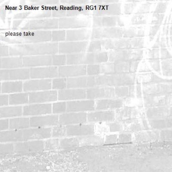 please take-3 Baker Street, Reading, RG1 7XT