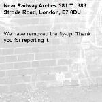 We have removed the fly-tip. Thank you for reporting it.-Railway Arches 381 To 383 Strode Road, London, E7 0DU