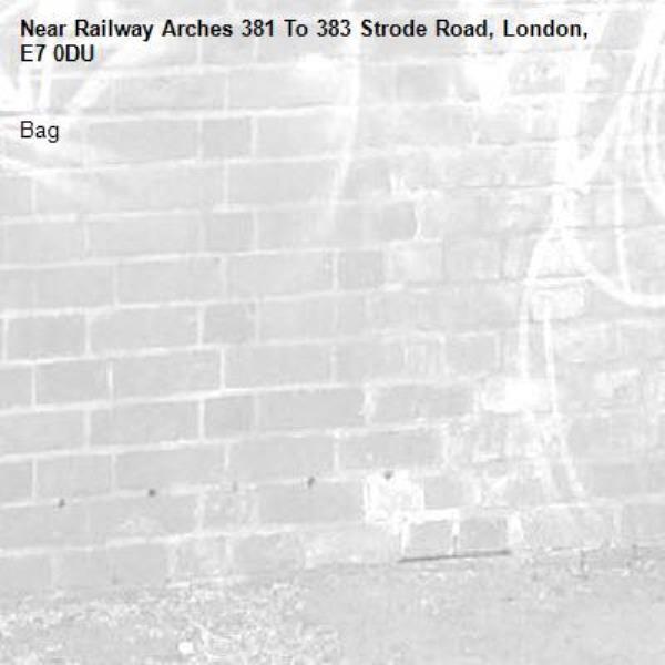 Bag -Railway Arches 381 To 383 Strode Road, London, E7 0DU