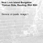 Several on posts  image 1-Lock Island Bungalow Thames Side, Reading, RG4 8DH