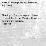 Thank you for your report, I have passed this to our Parking Services Team to investigate.