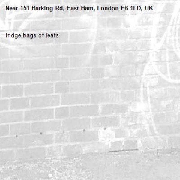 fridge bags of leafs-151 Barking Rd, East Ham, London E6 1LD, UK