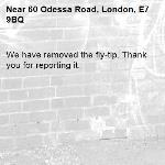 We have removed the fly-tip. Thank you for reporting it.-60 Odessa Road, London, E7 9BQ