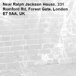 -Ralph Jackson House, 331 Romford Rd, Forest Gate, London E7 8AA, UK