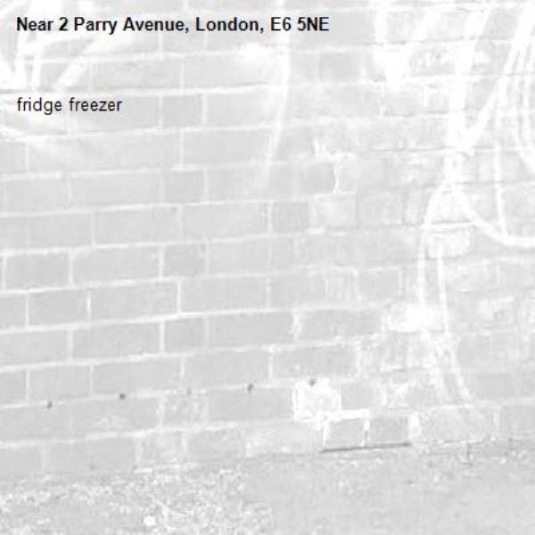 fridge freezer-2 Parry Avenue, London, E6 5NE
