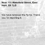We have removed the fly-tip. Thank you for reporting it.-155 Wakefield Street, East Ham, E6 1LG