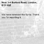 We have removed the fly-tip. Thank you for reporting it.-3-4 Burford Road, London, E15 4QZ