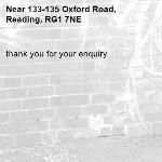 thank you for your enquiry -133-135 Oxford Road, Reading, RG1 7NE