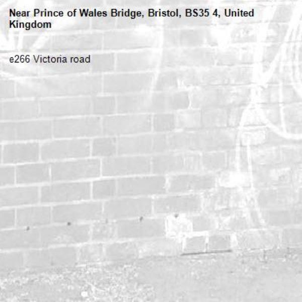 e266 Victoria road -Prince of Wales Bridge, Bristol, BS35 4, United Kingdom