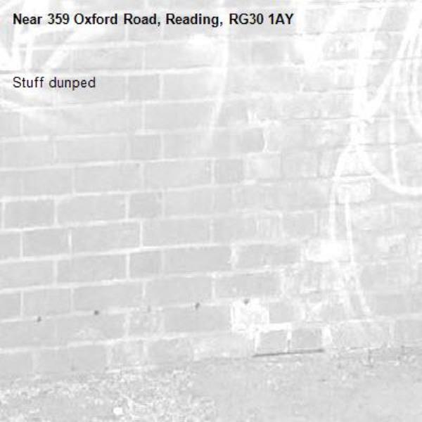 Stuff dunped-359 Oxford Road, Reading, RG30 1AY