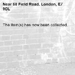The item(s) has now been collected.-68 Field Road, London, E7 9DL