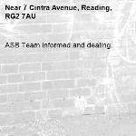 ASB Team informed and dealing.-7 Cintra Avenue, Reading, RG2 7AU