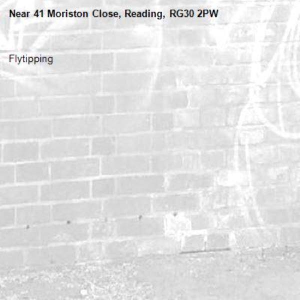 Flytipping-41 Moriston Close, Reading, RG30 2PW