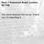 We have removed the fly-tip. Thank you for reporting it.-2 Grosvenor Road, London, E6 1HE
