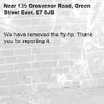 We have removed the fly-tip. Thank you for reporting it.-135 Grosvenor Road, Green Street East, E7 8JB