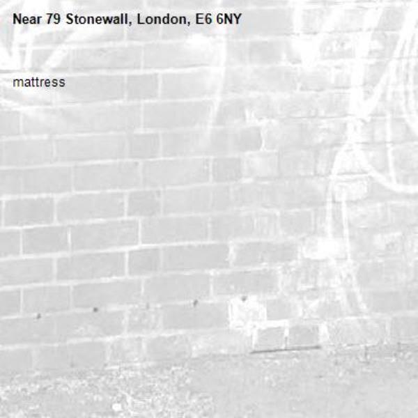mattress-79 Stonewall, London, E6 6NY