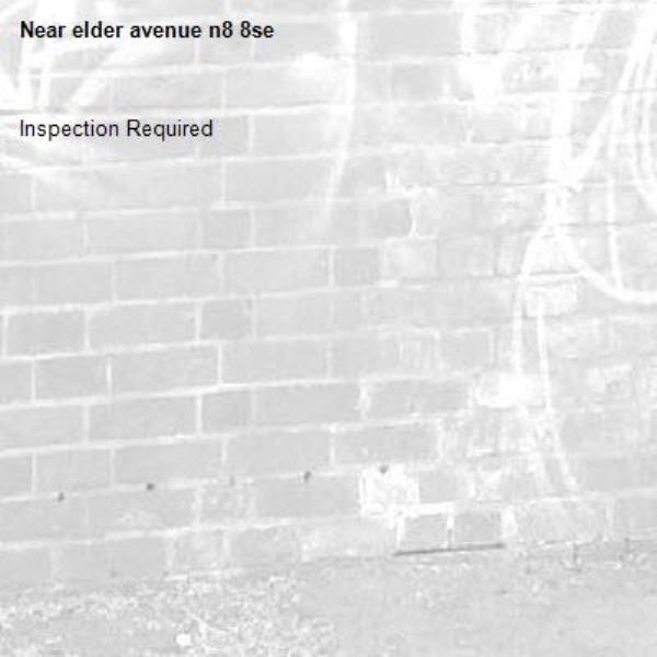 Inspection Required-elder avenue n8 8se