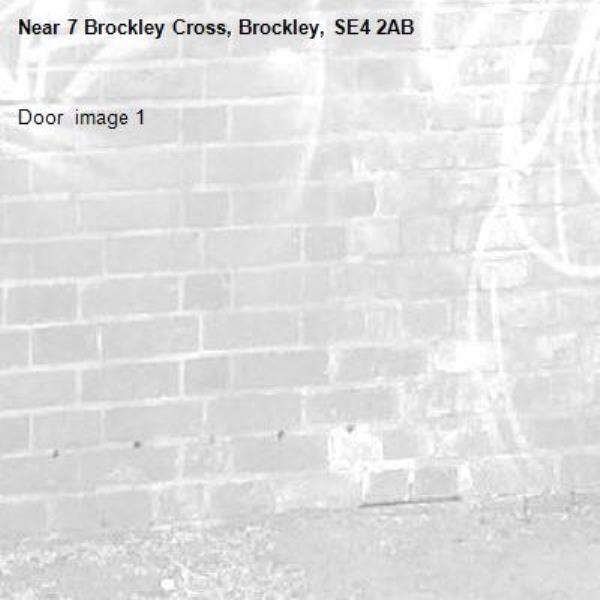 Door  image 1-7 Brockley Cross, Brockley, SE4 2AB
