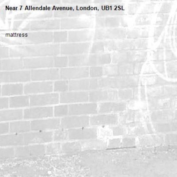 mattress-7 Allendale Avenue, London, UB1 2SL