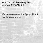 We have removed the fly-tip. Thank you for reporting it.-7b, 100 Rosebery Ave, London E12 6PS, UK