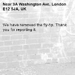 We have removed the fly-tip. Thank you for reporting it.-9A Washington Ave, London E12 5JA, UK