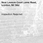 Inspection Required-Lawson Court Lorne Road, London, N4 3AU