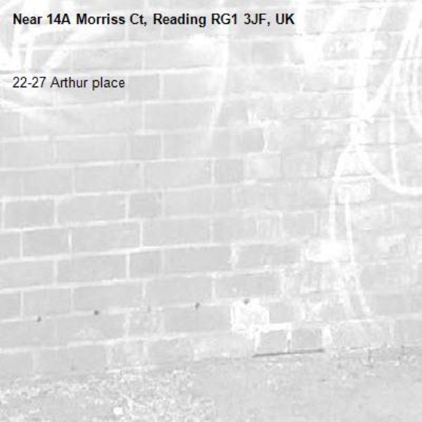 22-27 Arthur place -14A Morriss Ct, Reading RG1 3JF, UK