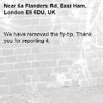 We have removed the fly-tip. Thank you for reporting it.-6a Flanders Rd, East Ham, London E6 6DU, UK