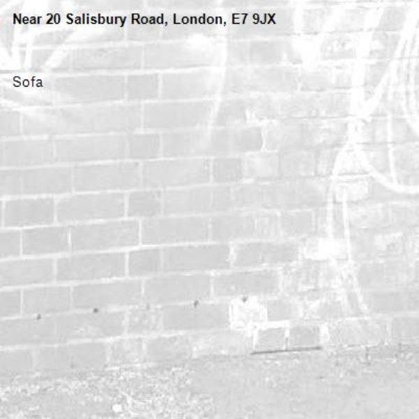 Sofa-20 Salisbury Road, London, E7 9JX