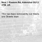 This has been removed by our Waste and Streets team -3 Eastern Rd, Aldershot GU12 4TB, UK