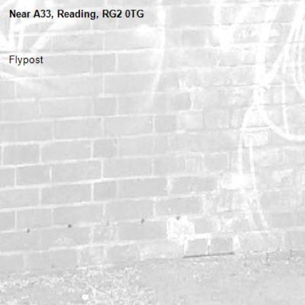 Flypost-A33, Reading, RG2 0TG
